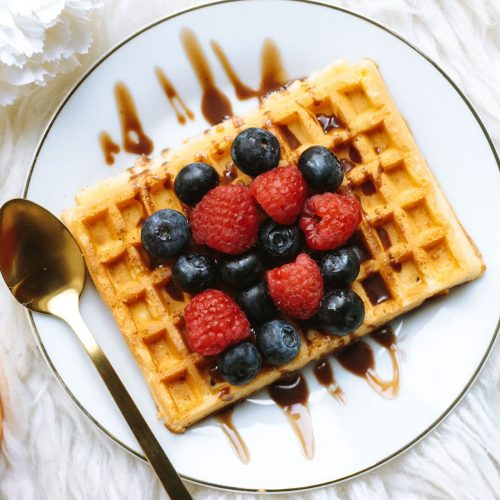 fruit-waffles